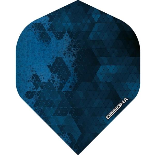 Designa DSX Rock Flights Standard - Blau