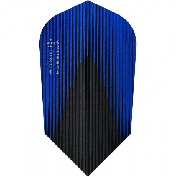 Harrows Flights Sonic-X Slim Form Blau