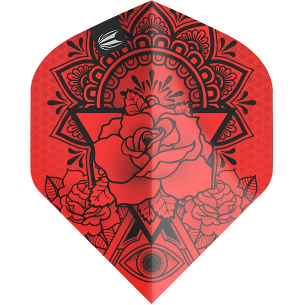 Target Pro.Ultra Ink Dart Flights Red N°2