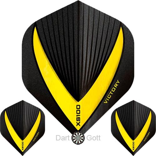 Victory XS 100 Vista R Dart Flight yellow