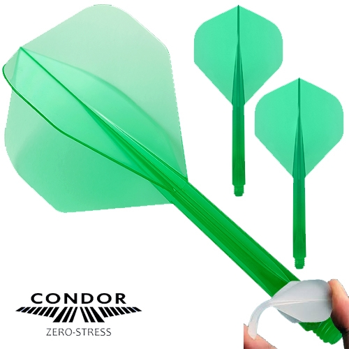Zero Stress Dart Flight Standard grün