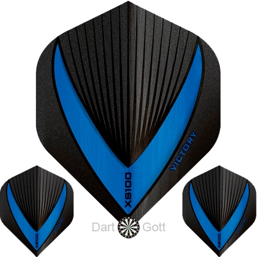 Victory XS 100 Vista R Dart Flight blue