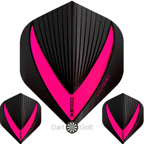 Victory XS 100 Vista R Dart Flight pink