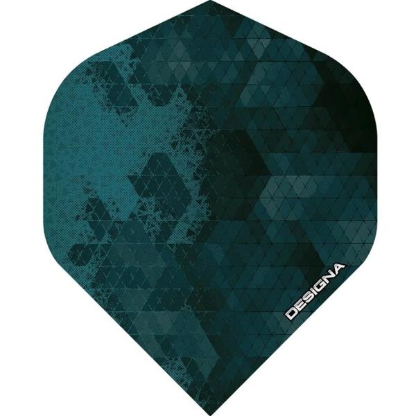 Designa DSX Rock Flights Standard - Schattenblau
