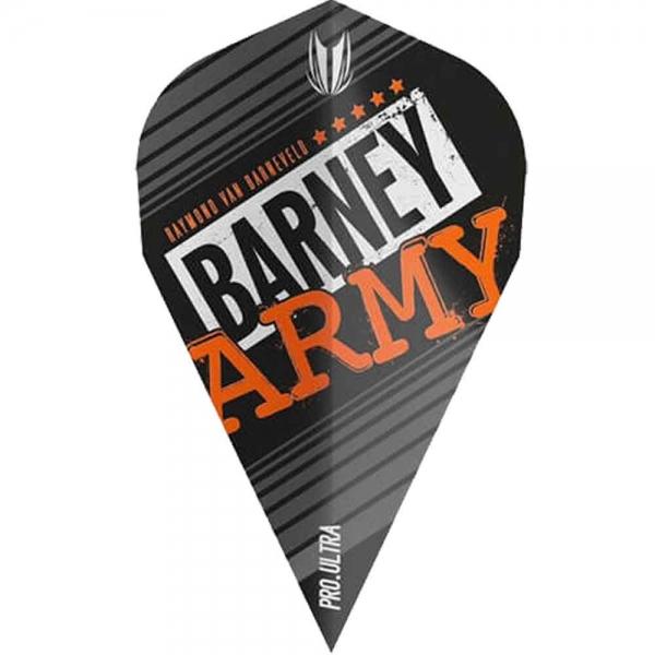RvB Ultra Pro Dart Flights - Vapor - Black- Barney Army