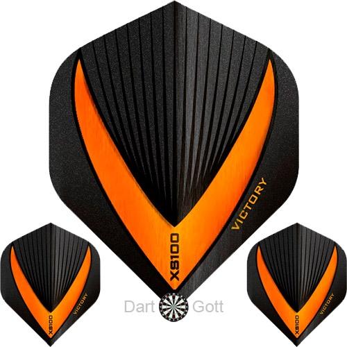 Victory XS 100 Vista R Dart Flight orange