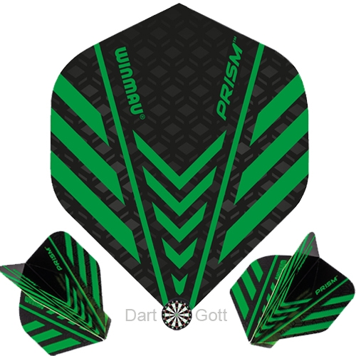 Winmau Prism Dartflight Green