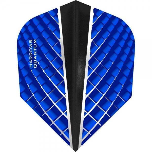 Harrows Quantum X Flights Standard Blau