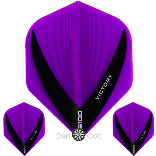 Victory XS 100 Vista Dart Flight purple