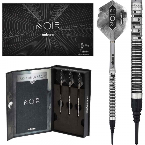 Gary Anderson Phase 5 Noir Softdarts