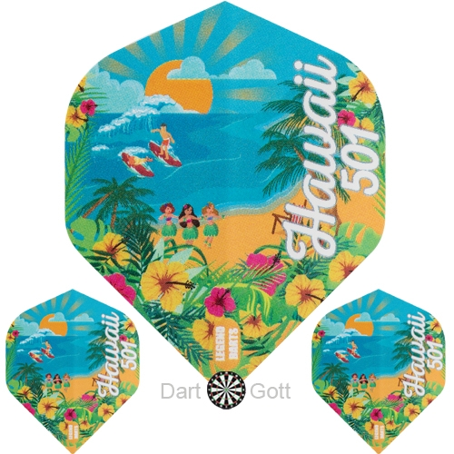 Wayne Mardle Dartflights - Hawaii 501 N°2