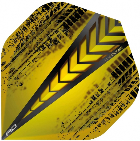 RedDragon Hardcore Yellow Dart Flights