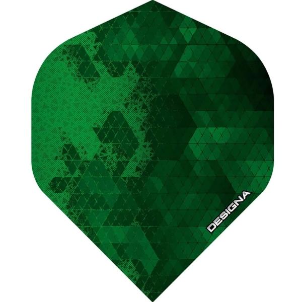 Designa DSX Rock Flights Standard - Grün