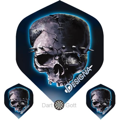 Designa Dartflights - 3D Skull