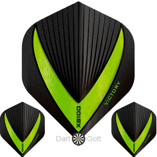 Victory XS 100 Vista R Dart Flight green