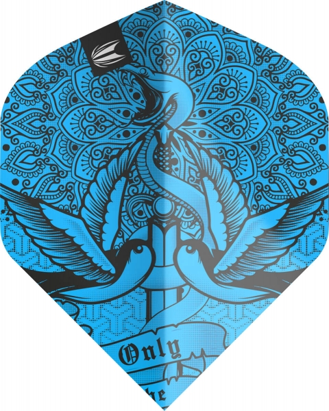 Target Pro.Ultra Ink Dart Flights Blue N°2