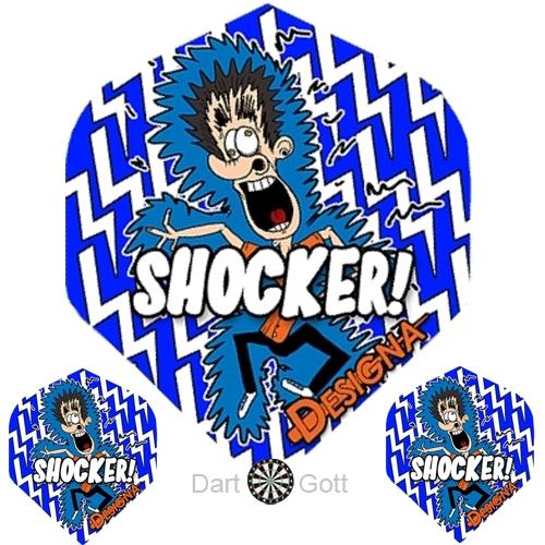 Designa Dartflights - Shocker