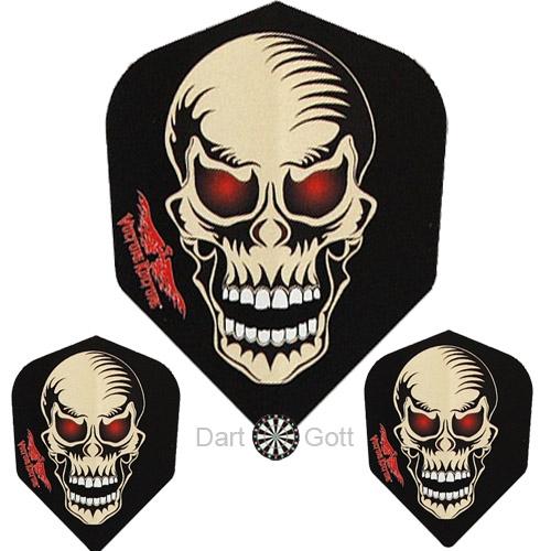 Dart Flights Standard - Glow Skull