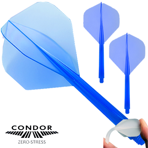 Zero Stress Dart Flight Standard blau