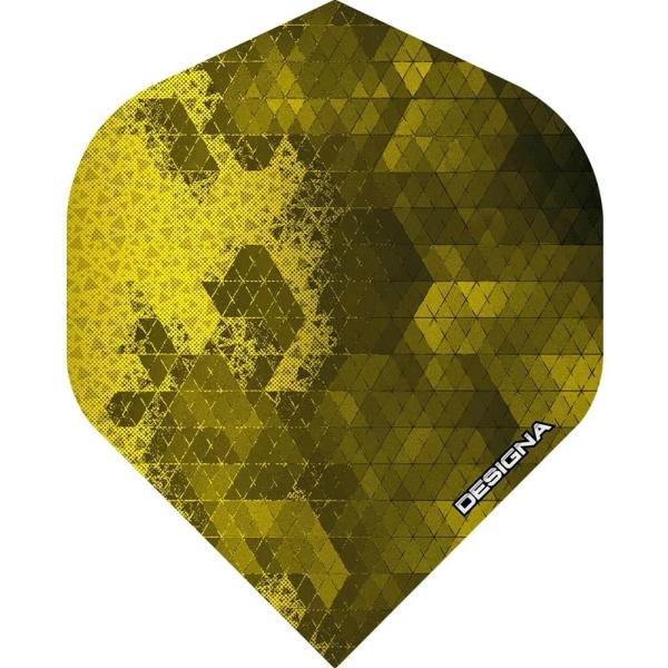 Designa DSX Rock Flights Standard - Gelb
